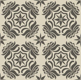 Seamless tile pattern. Seamless vector tile pattern. Easy to edit colors Stock Photos