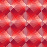 Seamless tile pattern. Seamless pattern with red tiles Stock Image