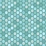 Seamless tile pattern. Hexagon tiles. Seamless blue pattern Stock Images