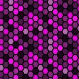Seamless tile pattern. Hexagon tiles. Seamless violet pattern Stock Photo