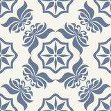 Seamless tile pattern 2. Seamless vector tile pattern. Easy to edit colors Royalty Free Stock Image