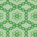 Seamless tile pattern. Motley 3d tiles. Seamless vector pattern Stock Photo