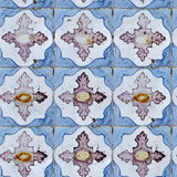 Seamless tile pattern of ancient ceramic tiles Royalty Free Stock Images