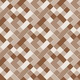 Seamless tile pattern. Seamless pattern with brown tiles Stock Photos