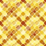 Seamless tile pattern. Seamless pattern with brown yellow tiles Stock Photos