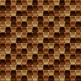 Seamless tile pattern made of rounded squares Stock Photo