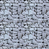 Seamless tile pattern of a stone wall Royalty Free Stock Image