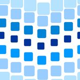 Seamless tile pattern. Seamless texture with blue rounded tiles on white Royalty Free Stock Photos
