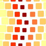 Seamless tile pattern. Seamless texture with hot rounded tiles on white Stock Image