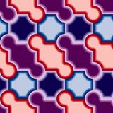 Seamless tile pattern. Violet tiles. Seamless  pattern Royalty Free Stock Images
