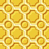 Seamless tile pattern. Seamless pattern with yellow tiles Stock Image