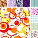 Seamless tile patterns Stock Photos