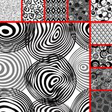 Seamless tile patterns Stock Image