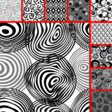 Seamless tile patterns Stock Image