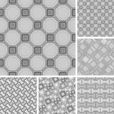 Seamless tile patterns Royalty Free Stock Photography