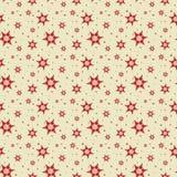 Seamless tile Snowflake background Stock Image