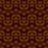 Seamless tileable background pattern Royalty Free Stock Images
