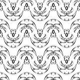 Seamless tileable background pattern Stock Photos