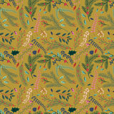 Seamless Tileable Christmas Holiday Floral Background Pattern Royalty Free Stock Photography