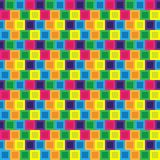 Seamless/Tileable colorful blocks tiles pattern. Seamless/Tileable colourful blocks tiles pattern. Horizontally and vertically seamless vector design Royalty Free Stock Photography