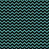 Seamless/Tileable horizontal black and cyan wavy lines pattern. Horizontally and vertically seamless Stock Illustration