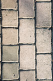 Seamless tileable texture , pavement brick , paving  stones on a Stock Image