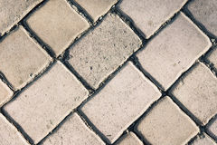 Seamless tileable texture , pavement brick , paving  stones on a Royalty Free Stock Photos
