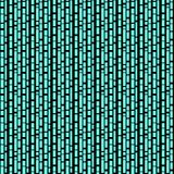 Seamless/Tileable, vertical, branching black lines on cyan. Horizontally and vertically seamless Stock Images