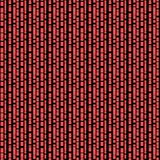 Seamless/Tileable, vertical, branching black lines on red. Horizontally and vertically seamless stock illustration