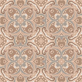 Seamless tiled pattern vector background Royalty Free Stock Photos