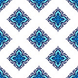 Seamless tiled pattern vector design Stock Images