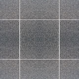 Seamless tiled wall, gray/black. texture, background. Royalty Free Stock Photography