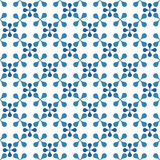 Seamless tiles geometric pattern Stock Images