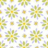Seamless tiling abstract floral texture Stock Photo
