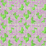 Seamless tiling Dragon texture Royalty Free Stock Image