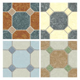 Seamless tiling floor textures Royalty Free Stock Photo