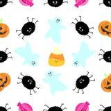 Seamless tiling Halloween texture Stock Photos