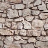Seamless tiling stone wall Royalty Free Stock Photos