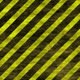Seamless tiling warning stripes Royalty Free Stock Photos