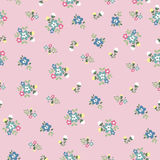 Seamless tiny cute flower pattern Royalty Free Stock Photo