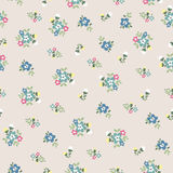 Seamless tiny cute flower pattern Stock Photos
