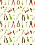 Seamless tool pattern Stock Image