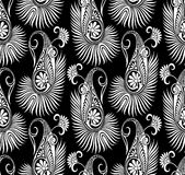 Seamless traditional Asian elements Paisley Stock Photos