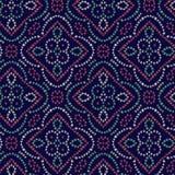 Seamless traditional bandanna pattern stock illustration
