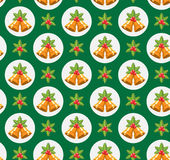 Seamless Traditional Christmas Pattern Royalty Free Stock Photography