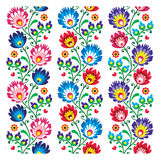 Seamless traditional folk polish pattern seamless Royalty Free Stock Photos