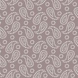 Seamless traditional Indian bandanna pattern royalty free illustration