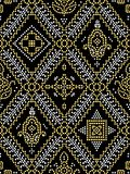 Seamless traditional Indian pattern royalty free illustration
