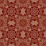 Seamless traditional indian wallpaper royalty free stock photos