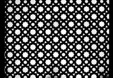 Seamless Traditional Islamic Pattern and Design used as a Backgr Stock Image